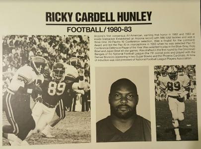 Ricky Hunley Arizona Wildcat