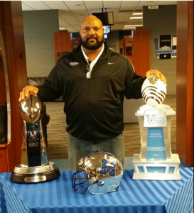 Ricky Hunley Memphis Tigers Head Coach
