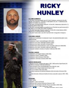Ricky Hunley Bio